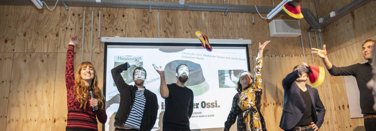 Foto vom Start der Initiative Wir sind der Osten